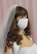 Spitze Braut Mundschutz Hochzeit Maske