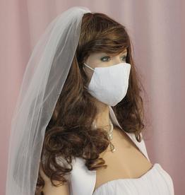 Hochzeit Braut Mundschutz Maske Spitze