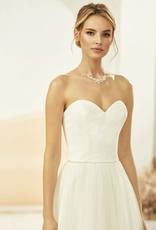 Corsage aus Spitze für Brautkleid