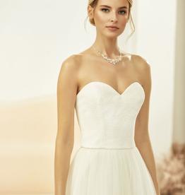 Spitzen Corsage zum Brautkleid