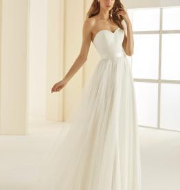 GlitzerTüllrock lang zum Brautkleid