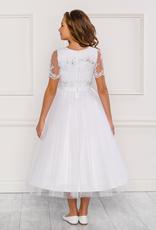 MAJA ein kurzes Mädchenkleid für Kommunion