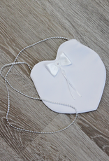 Mädchen Kommuniontasche in Herzform