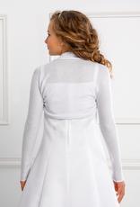 Strickbolero zum Kommunionkleid in weiß oder creme
