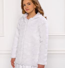Kommunionjacke Mantel warm für Mädchen