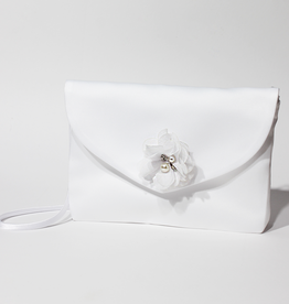 Traumhafte Kommuniontasche mit Blume