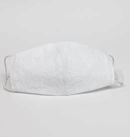 Kommunion Mundschutz mit Spitze in weiß