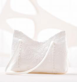 Hochzeit Brauttasche mit Spitze