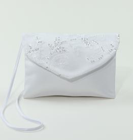 Tasche für Kommunion mit Paillettenspitze