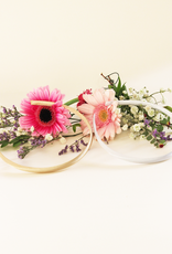 Haarreif für Kommunion Blumenmädchen DIY