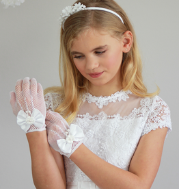 Romantische Handschuhe für Kommunion