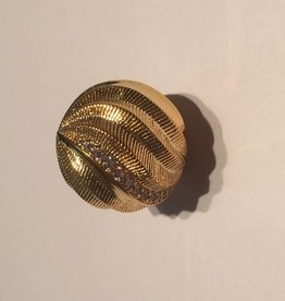 Sparkling Jewels Sparkling Jewels bal goud gedraaid 20mm