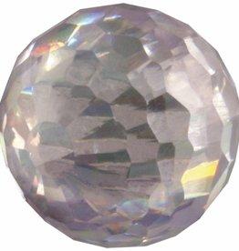 Melano Melano cateye bal zirkonia  kristal facet