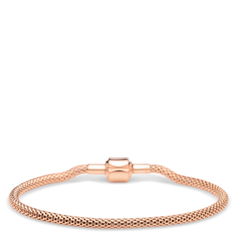 Bering Bering armband rose goud  lengte 14 cm
