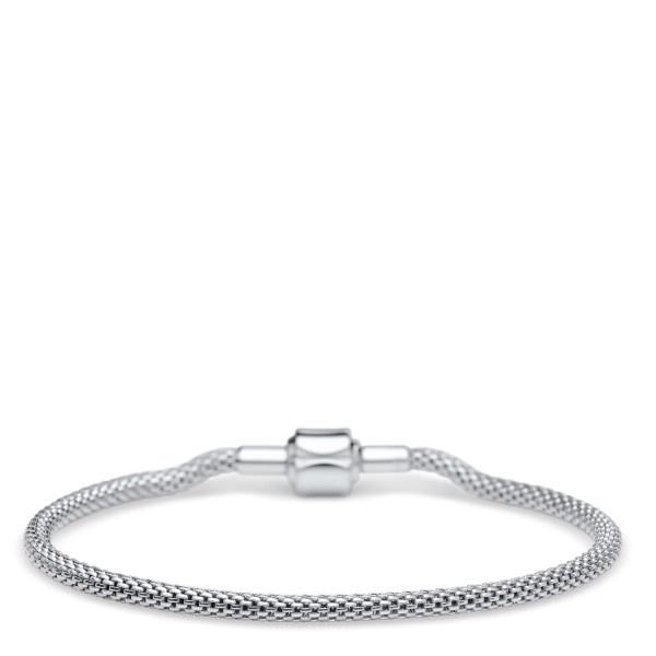 Bering Bering armband  zilver lengte 14 cm