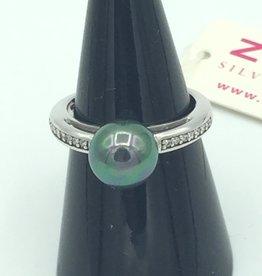 zinzi Zinzi  - Zilveren - Ring  - parel