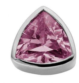 Enchanted Jewels enchanted jewels bedel zilver met licht paarse zirkonia
