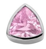Enchanted Jewels enchanted jewels bedel zilver met licht roze zirkonia