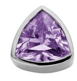 Enchanted Jewels enchanted jewels bedel zilver met donker paars zirkonia