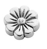 Enchanted Jewels Enchanted jewels bedel bloem zilver met zirkonia