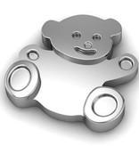 Key Moments Key Moments zilveren teddy beer