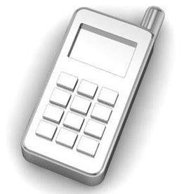 Key Moments Key Moments zilveren mobiele telefoon