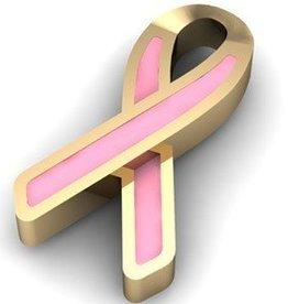 Key Moments Key Moments gouden pink ribbon