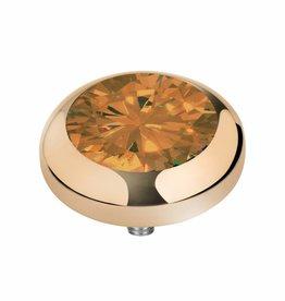 Melano Melano vivid goud zirkonia oker