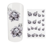 Water Decal Roses
