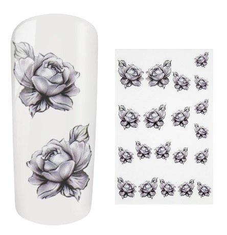 Netama's  Beauty Water Decal Roses
