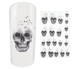 Water Decal Skull