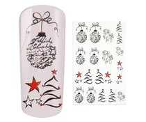 Water Decal Christmas