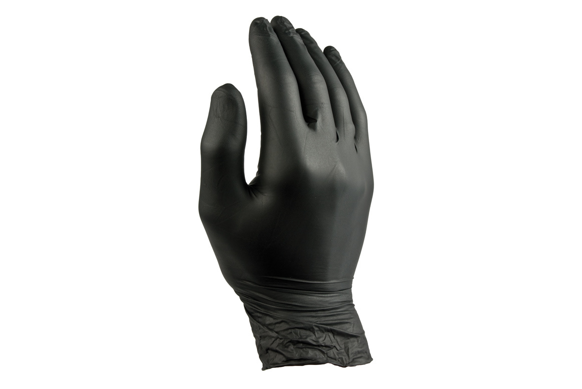 Netama's  Beauty Handschoenen Nitril Zwart - S