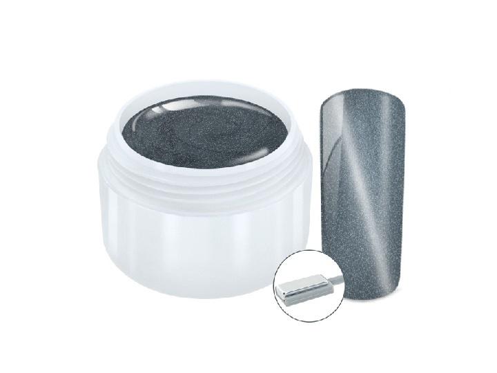 Cat eye magneet gel Silver