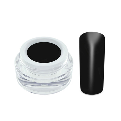 Netama's  Beauty Color gel matt look black 5 ml