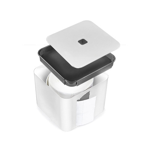 Netama's  Beauty Dispenser voor celstofdeppers The Cube