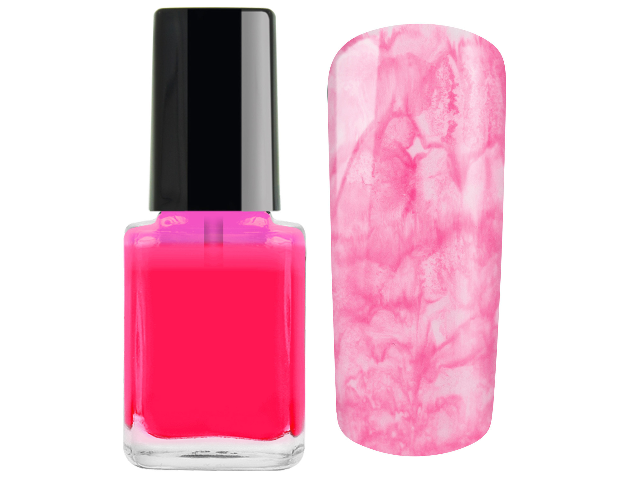 Netama's  Beauty Color drops neon roze