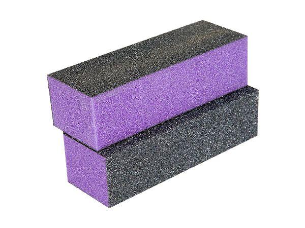 Netama's  Beauty Polijstblok zwart/paars