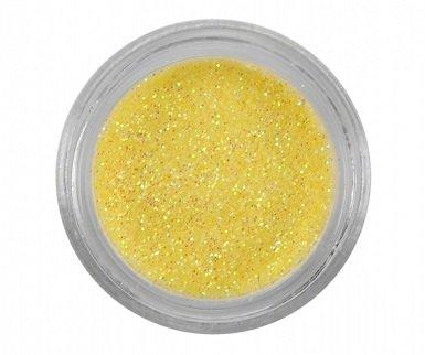 Glitterpoeder 3 gr Geel