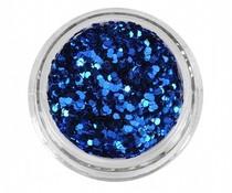 Glitterpoeder Donker Blauw