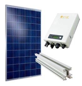 Q-Cells Set met Poly 280WP panelen