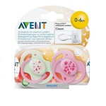 Philips Avent Philips Avent Fopspeen 0-6md Orange Bab