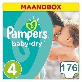 Pampers Baby Dry Maat 4 Maandbox
