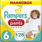 Pampers Pampers Premium Protection Pants Active fit Maat 6 Luierbroekjes 128 stuks