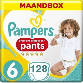 Pampers Premium Protection Pants Active fit Maat 6 Luierbroekjes 128 stuks