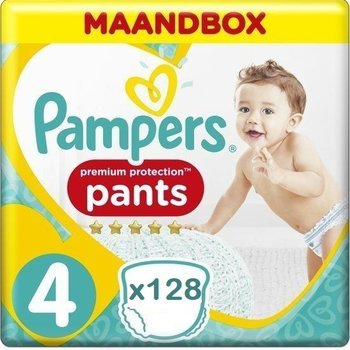 Pampers Premium Protection Pants Active fit Maat 4 Luierbroekjes 128 stuks