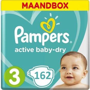 Pampers Active Baby Dry  Maat 3 - 162 Stuks Maandbox