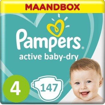 Pampers Active Baby Dry Maat 4 - 147 Stuks Maandbox