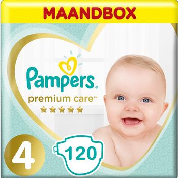 Pampers Premium Care Maat 4 - 120 Stuks - Maandbox