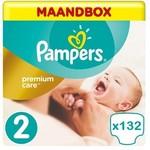 Pampers Pampers Premium Care Maat 2- 132 Luiers -  Maandbox